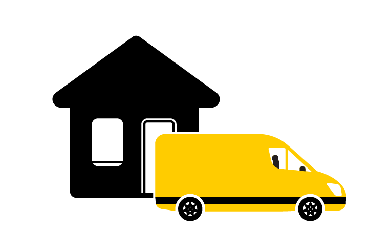 House moving with van